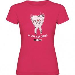 Camiseta para dentista Joya Corona
